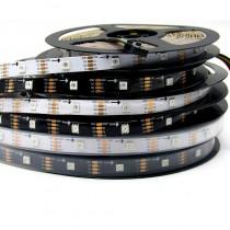 SK9822 5050 RGB LED Pixel Strip Individual Addressable 5V 16.4ft 5M 150leds Light