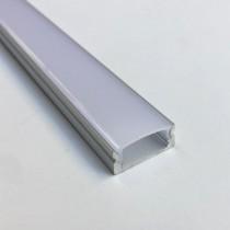 1M led Power Recessed Extruded Aluminum Profile 20pcs