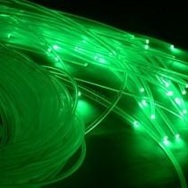 200M 0.75mm end Glow PMMA Plastic Optic Fiber Cable