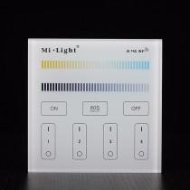 Mi.Light T2 AC 220V 4-Zone CCT Adjust Smart Panel Remote Controller