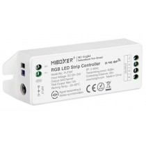 New FUT037 Upgraded Miboxer 12V~24V 4-Zone RGB Led Controller 2.4G Support RF Remote App Voice Control