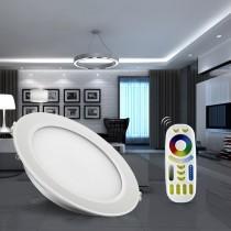 Mi.Light 15W Waterproof RGB CCT LED Downlight Round Reccessed Light FUT069