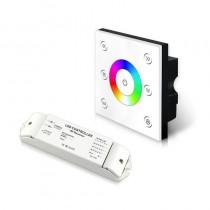 P4X+R4-2.4G Bincolor Led Wireless CV RGBW Panel DMX512 5A×4CH Controller