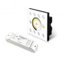 P6X+R4-2.4G Bincolor Led Wireless Multi-Zone CCT Panel DMX512 Controller