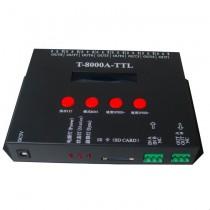 T8000A Pixel Light LED Controller T8000 SD Card Control Addressable 8192 Pixels