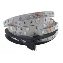 RGB DC 12V 5050 16.4ft 150LEDs LED Strip 30LEDs/M Light 2pcs