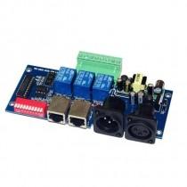 WS-DMX-RELAY-3CH-KA-BAN Relay Switch DMX Decoder DMX512 Controller
