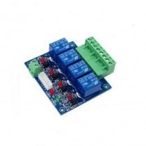 2x4CH Relay Switch Dmx512 Controller Decoder WS-DMX-RELAY-4CHX2