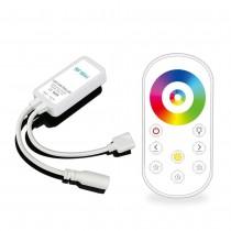 RF Ultrathin Mini LED Strip Controller Full Touch Remote DC5-24V 144W