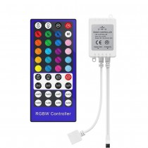 RGBW Controller 4 Channels LED Dimmer 40Key 5Pins IR Remote Control 12-24V
