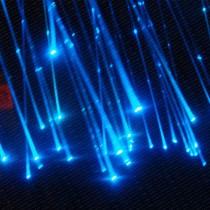 0.75mm 2Meters Sparkle Flash Point Glow PMMA Plastic Fiber Optical Cable 50PCS