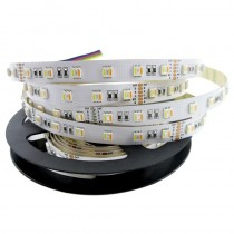 5 in 1 5050 RGB CCT LED Strip 5 Colors Light 12V 24V 16.4ft 5M