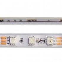 SK6812 RGB LED Strip Lights 16.4ft 300 LEDs DC12V White PCB Waterproof