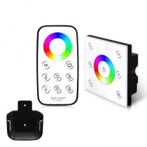 P4+T4 Bincolor Led 4CH RGBW Panel Wireless Remote RGBW Controller