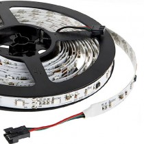 UCS1903 DC 12V LED Strip Lights Programmable Pixel 150LEDs 16.4ft