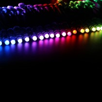 WS2811 Diffused RGB LED Pixels Light Round DC12V 12mm Waterproof