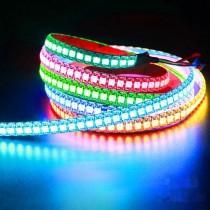 WS2812b DC5V LED Pixel Strip 2812 IC Built-in RGB 144 leds/m 1M Light